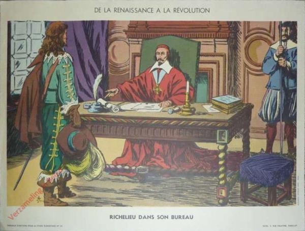 20 - Richelieu dans son bureau