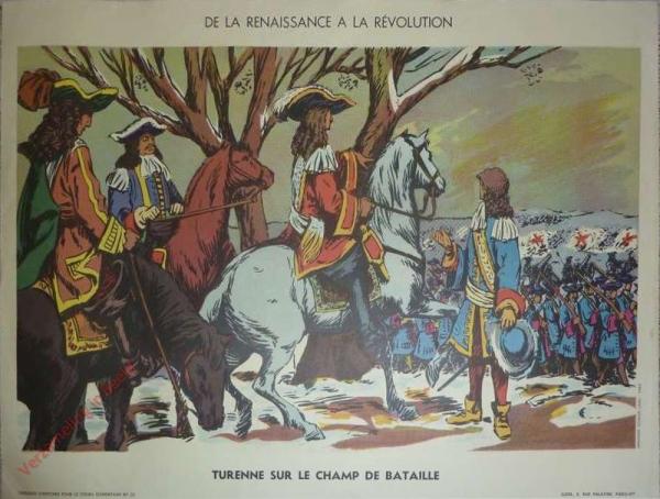 22 - Turenne sur le champ de bataille