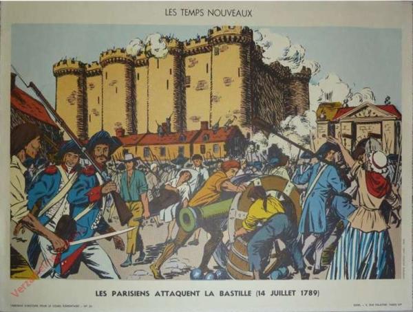 25 - Les Parisiens attaquent la Bastille (14 juillet 1789)