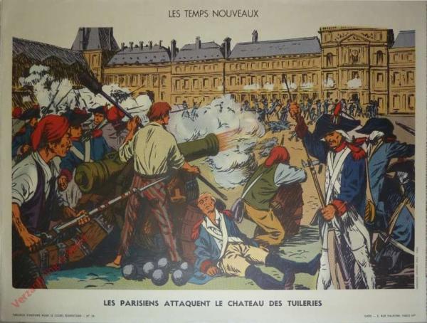 26 - Les Parisiens attaquent le château des Tuileries