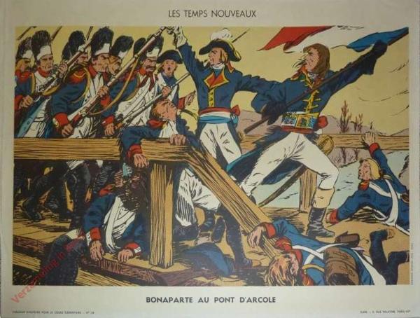 28 - Bonaparte au pont d'Arcole