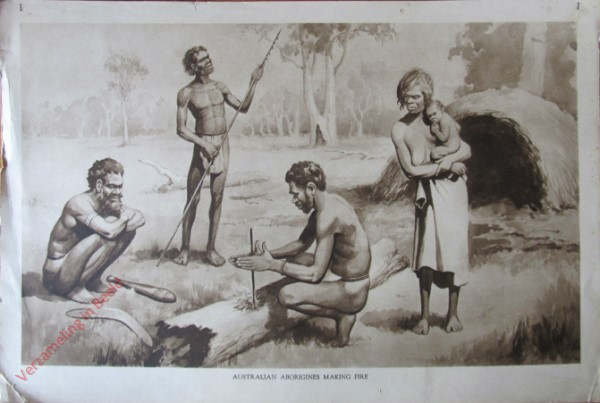 1 - Australian Aborigines Making Fire