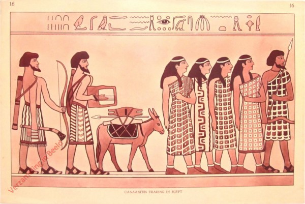 16 - Canaanites Trading In Egypt