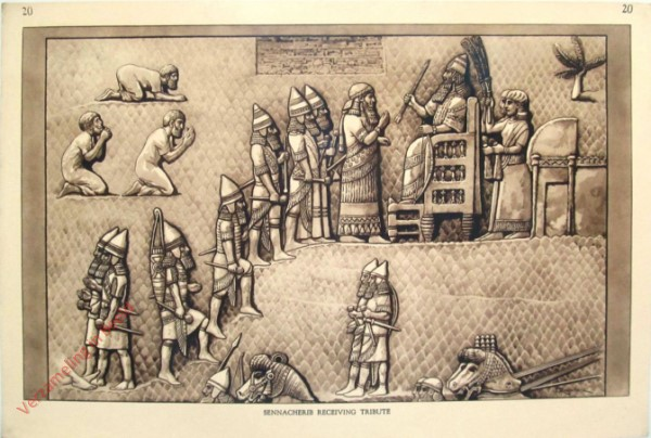 20 - Sennacherib Receiving Tribute