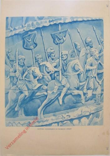 34 - Gothic Horsemen in Roman Army