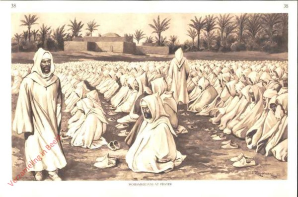 38 - Mohammedans at Prayer