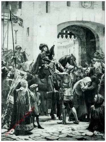 48 - Joan of Arc Receives her Sword