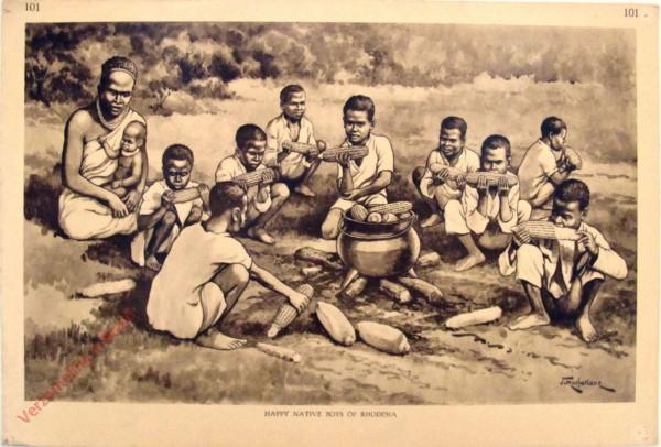 101 - HAPPY Native Boys of Rhodesia
