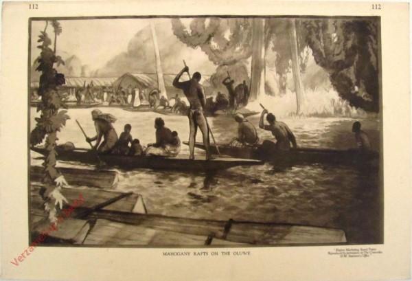 112 - Mahogany Rafts on the Oluwe