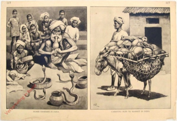 117 - Snake Charmer in India + Carrying Pots to Marker in India