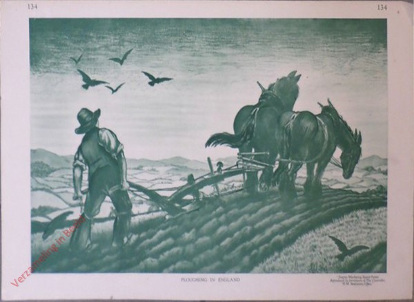 134 - Ploughing in England