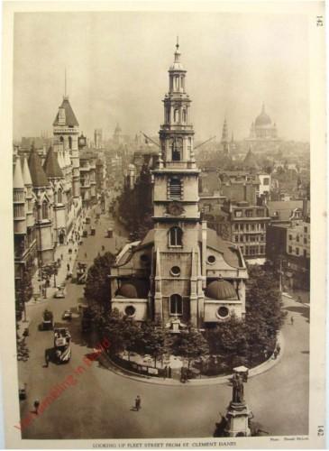 142 - Looking Up Fleet Street From St Clement Danes