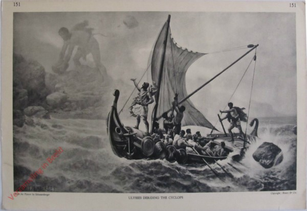 151 - Ulysses Deriding the Cyclops