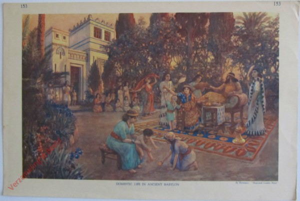 153 - Domestic Life in Ancient Babylon