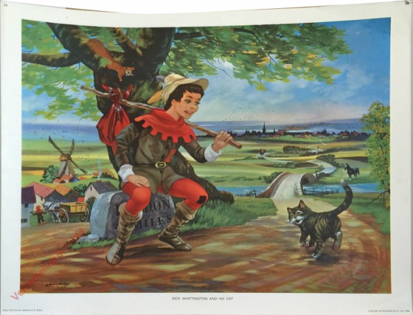24 - Dick Whittington and his cat