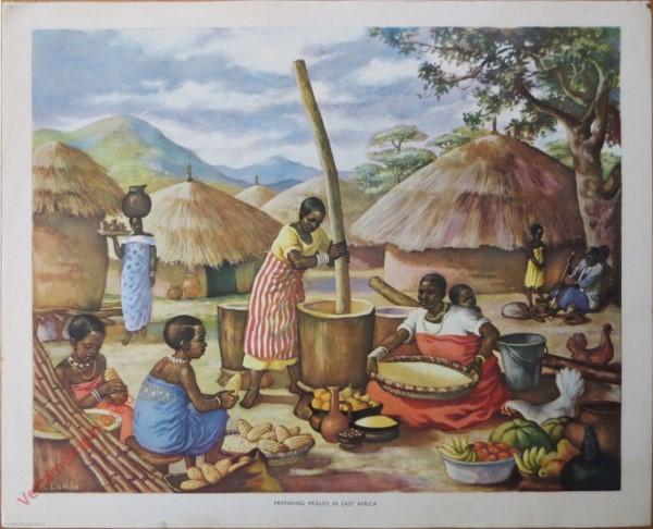 Set 1-7 - Preparing mealies in East Africa