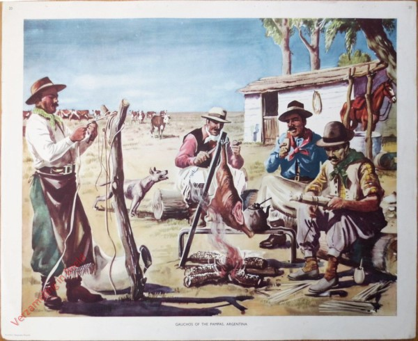 Set 1-20 - Gauchos of the pampas, Argentina