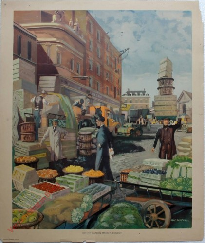 Set 1-38 - Covent Garden market, London