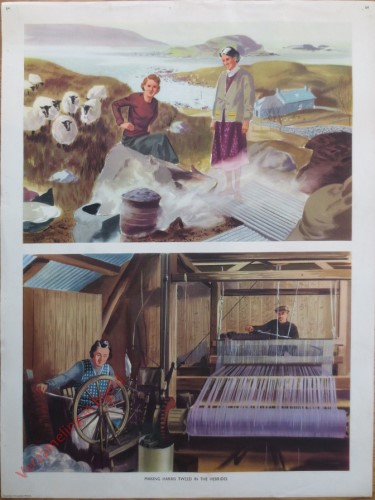 Set 2-64 - Making Harris tweed in the Hebrides