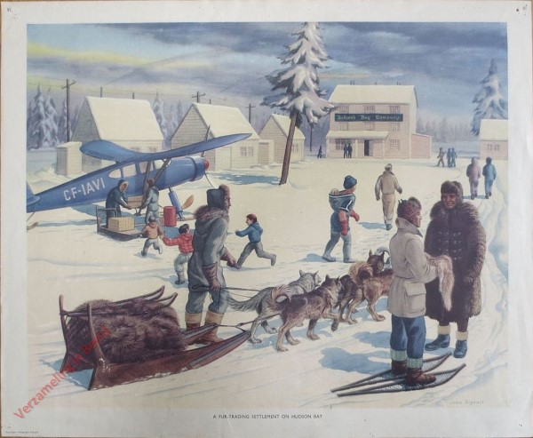 Set 2-81 - Fur trading Hudson Bay