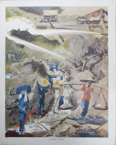 Set 2-98 - A tin mine in Malaya