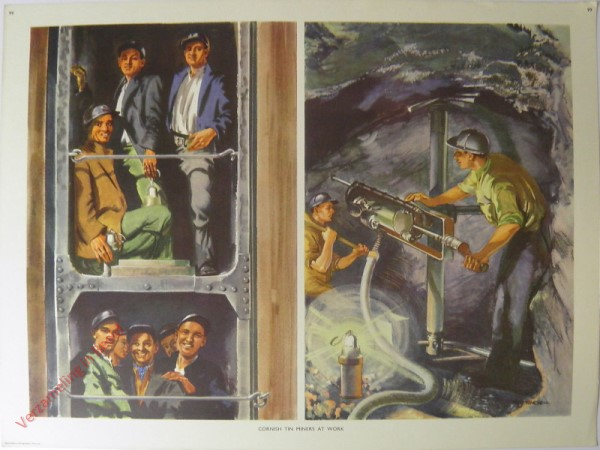 Set 2-99 - Cornish tin miners at work