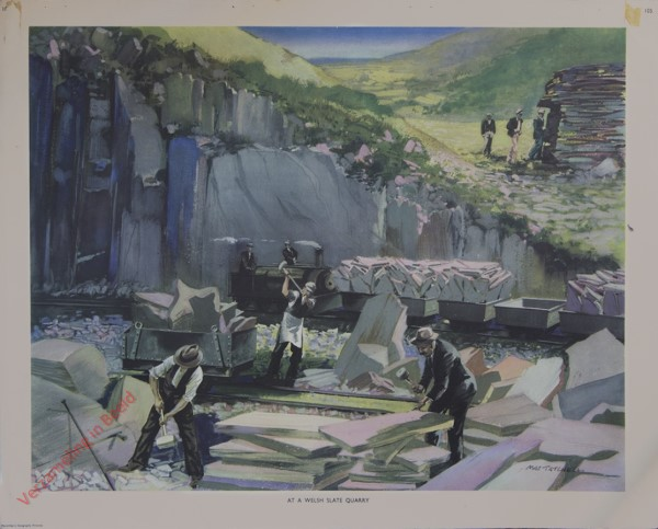Set 2-105 - At a Welsh slate quarry