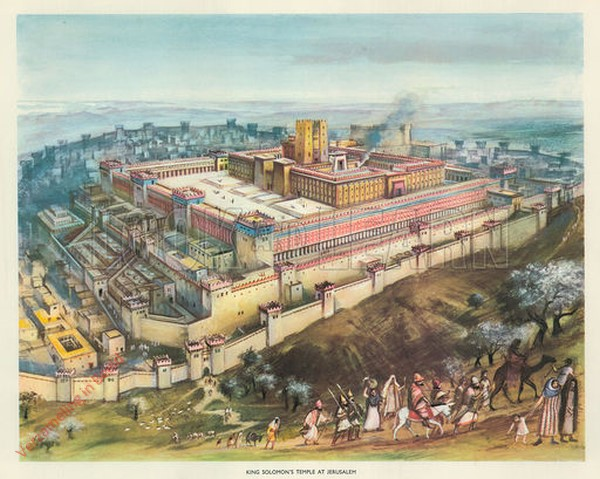 King Solomon's Temple at Jerusalem