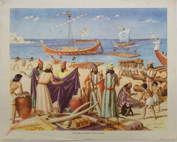 Intr. Set-19 - Phoenicean sea traders landing a cargo