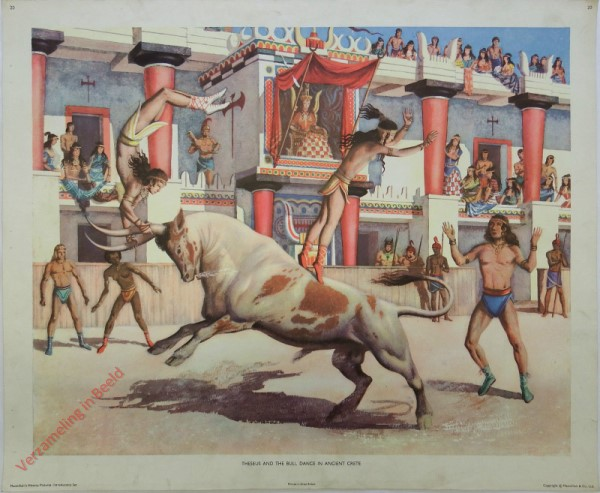 Intr. Set-20 - Theseus and the bull dance in ancient Crete