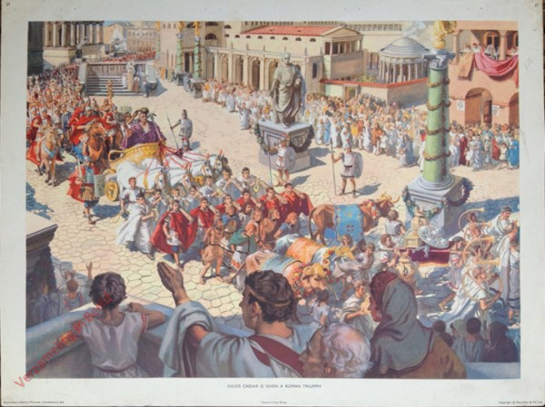 Intr. Set-37 - Julius Ceasar is given a Roman Triumph