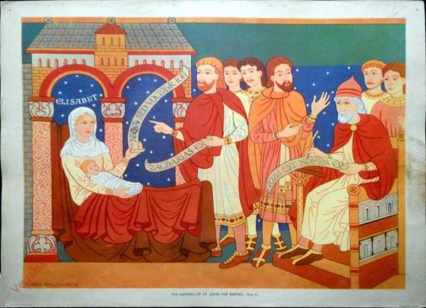 Set 1-4 - The Naming of St. John the Baptist