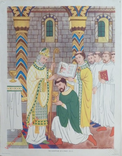Set 1-5 - The Investiture of a Priest, 12th C.