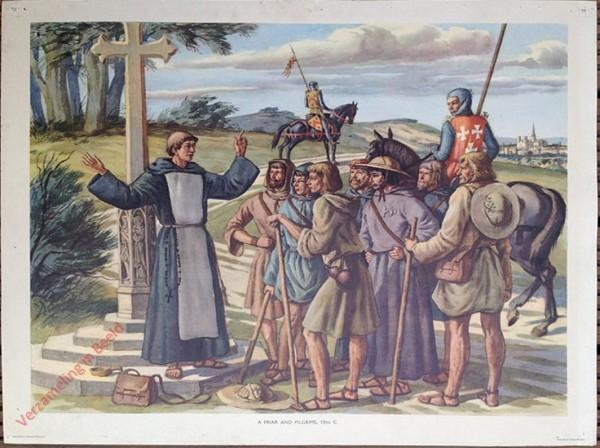 Set 1-10 - A Friar and Pilgrims, 13th C.