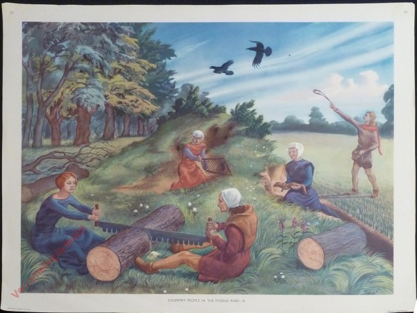 Set 1-17 - Country People in the Middle Ages - A