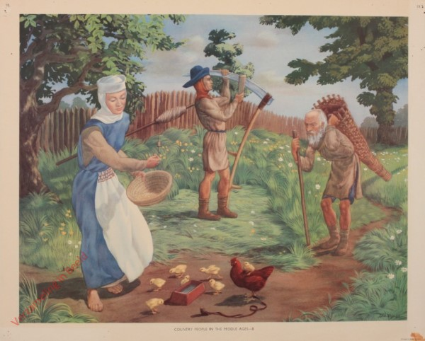 Set 1-18 - Country People in the Middle Ages - B