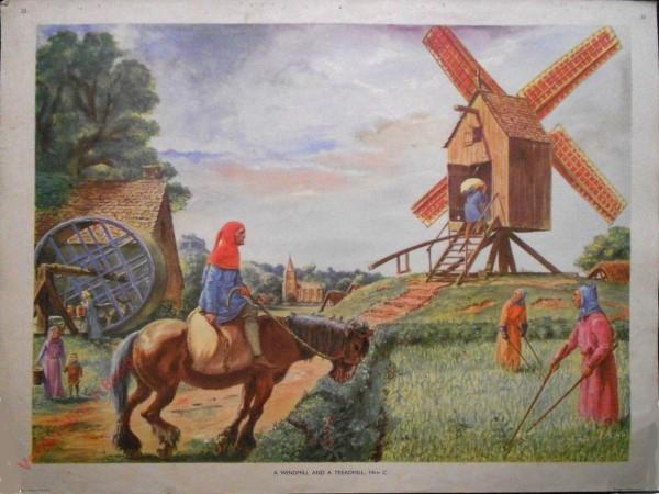 Set 1-22 - A Windmill and a Treadmill, 14th C.