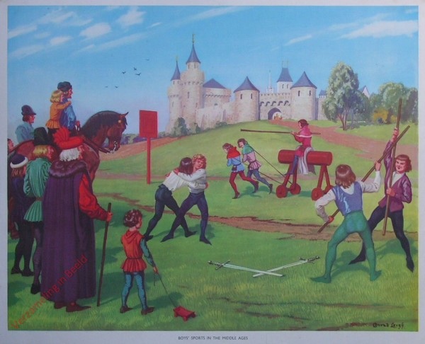 Set 1-23 - Boys' Sports in the Middle Ages