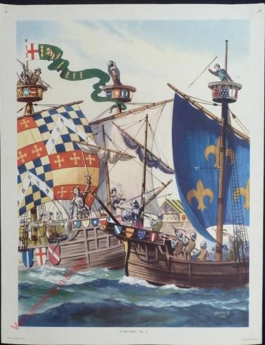Set 1-36 - A Sea-Fight, 15th C.