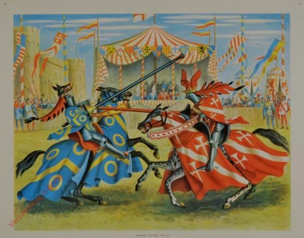 Set 1-38 - Knights Tilting, 15th C.