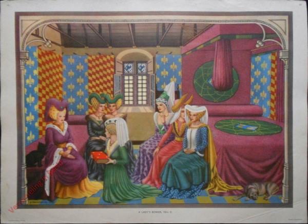 Set 1-43 - A Lady's Bower, 15th C.