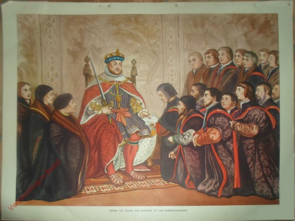Set 2-65 - Henry VIII. Giving the Charter to the Barber-Surgeons