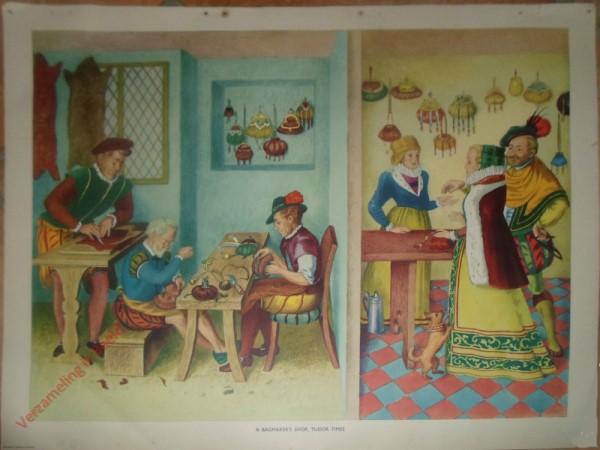 Set 2-70 - A Bagmaker's Shop, Tudor Times