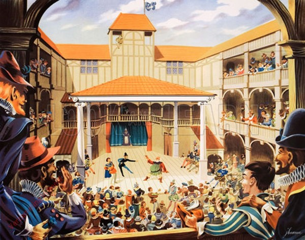 Set 2-73 - An Elizabethan Theatre