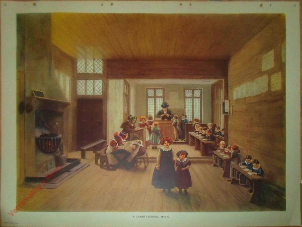 Set 2-92 - A Charity-School 18th C.