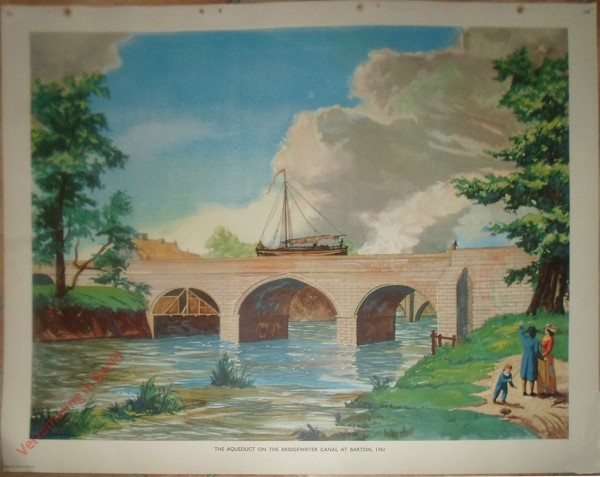Set 2-105 - The Aqueduct on the Bridgewater Canal at Barton, 1761