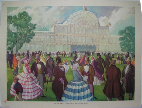Set 3-123 - 1851. The great exhibition Crystal Palace