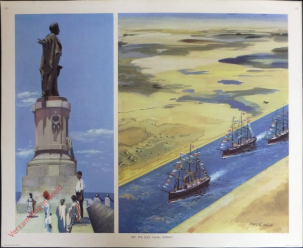 Set 3-127 - 1869. Opening of the Suez-kanaal