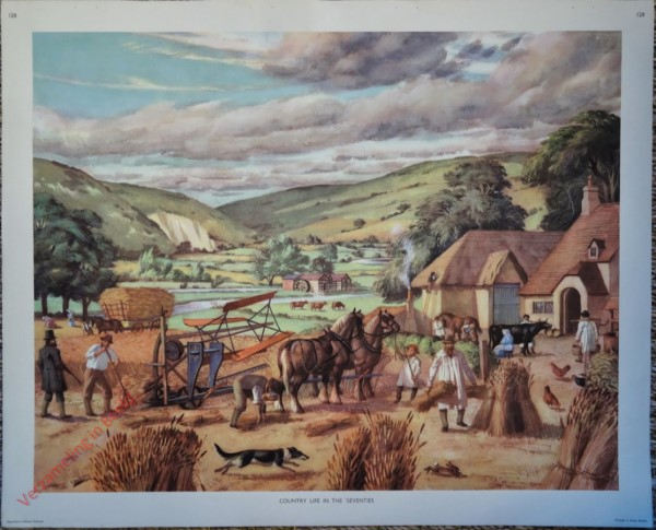Set 3-128 - 1870. Country life in the seventhies