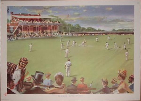 Set 3-131 - 1886. England v Australia at Lord's